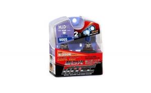 SET 2 Becuri auto HB3 (9005) MTEC super white- efect xenon