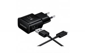 Incarcator de retea original Samsung Adaptive Fast Charging + Cablu de Date USB Type C  Alege ti culoarea potrivita