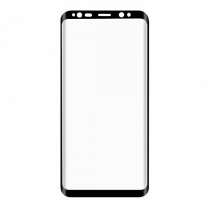 Set 2x Folie MTP Full Glue Full Cover pentru Samsung Galaxy S8 Negru