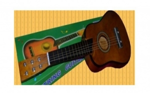 Chitara acustica pentru copii, cu 6 corzi, accesorii incluse