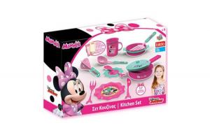 Set bucatarie Minnie Mouse de la Disney, 17 accesorii, set fantastic si creativ+3 ani