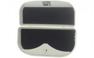 Suport auto caseta pentru ochelari, gri