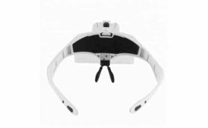 Lupa tip ochelari cu lentile interschimbabile si 2 LED-uri 989/2B2