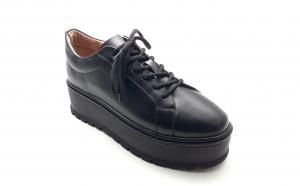 Pantofi dama cu siret VDM052 din piele