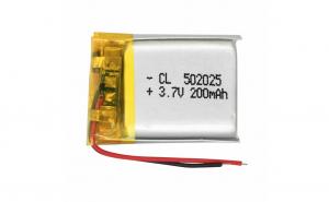 502025 - Acumulator Li-Po- 3,7 V -200mah