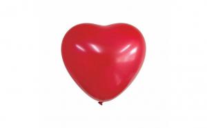 Balon mare rosu in forma de inima - 91 cm