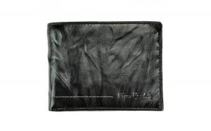 Portofel barbati vintage din piele naturala Pierre Cardin GPB450-Negru