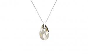 Colier Pear Silver