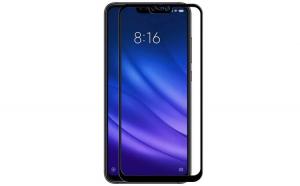 Folie sticla securizata Full Glue pentru Xiaomi Mi 8 Lite  Negru