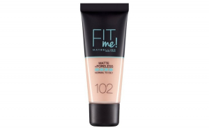 Fond de ten MAYBELLINE FIT ME Matte  Poreless 102 Ivory, 30 ml
