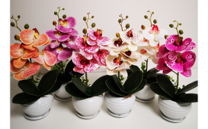 Aranjament orhidee silicon