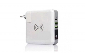 Baterie externa 6700mah cu Display, incarcare Wireless sau prin cablu