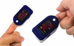 Pulsoximetru pentru masurat pulsul si cantitatea de oxigen