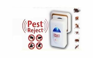 Va punem la dispozitie o alternativa curata si sigura ce indeparteaza soarecii, insectele si daunatorii intr-un timp foarte scurt si eficient: Aparat anti-daunatori