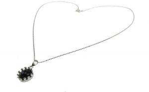 Lantisor argint cu pandantiv coroana