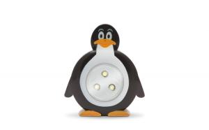 """Lampă de veghe cu buton, model """"Pinguin"""""""