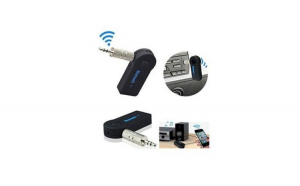 Receptor Auto cu Functia Bluetooth Audio Digital, Receiver Muzica Auto, 3.5 mm, A2DP Wireless Auto, AUX Adapter, Pentru muzica si apeluri