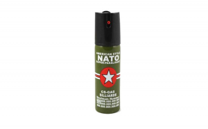Spray paralizant NATO, propulsie jet,