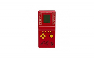 Consola de joc Tetris, 9999 in 1, rosu