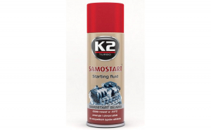 Spray pornire motor K2 SAMOSTART 400ml