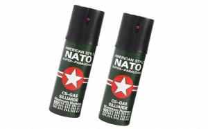 Set 2 spray-uri de autoaparare cu piper Nato