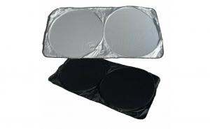 Parasolar auto cu arcuri, pentru parbriz + luneta,140 x 70 cm