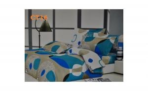 Super oferta pentru dormitorul tau! Cele mai noi lenjerii. Lenjerie de pat creponata din 4 piese, bumbac 100%, la doar 71 RON in loc de 139 RON