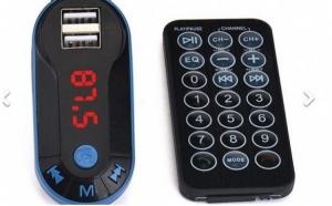 Modulator FM mp3 player, cu incarcator, pentru diverse dispozitive, incorporat, diverse functii