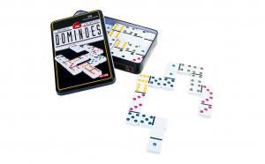 Joc de societate, Domino+ cutie metalica, Totul pentru copilul tau, Jocuri de societate