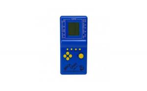 Consola de joc Tetris, 9999 in 1, albastru