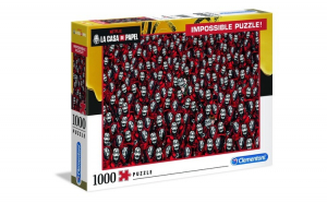 PUZZLE IMPOSSIBLE LA CASA DE PAPEL 1000