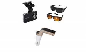 Camera auto HD 1080 + Modulator car kit