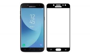 Folie Sticla Securizata Samsung J5 2017 - 4D - Negru