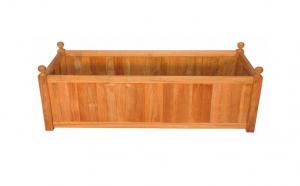 Jardiniera din lemn, 60x20x34cm VIVO