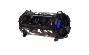 Boxa portabila bluetooth 4 difuzoare 15w redare mp3 radio usb super-bass army