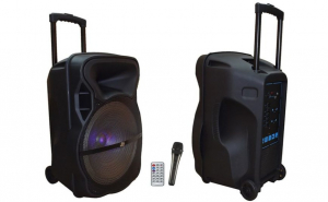 Boxa Portabila Bluetooth Active Jrh 152, Tip Troller, Scoate 400, Microfon, telecomanda, radio, usb, mp3