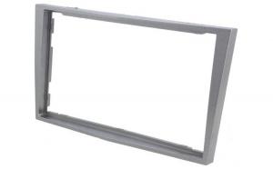 Rama adaptoare 2 DIN OPEL argintiu