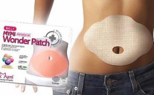 Set 10 plasturi de slabit pentru zona abdominala cu extracte din plante