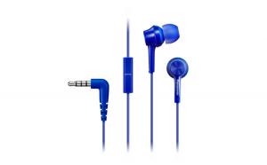 Casca in-ear cu fir TCM115E Panasonic, Albastru