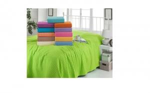 Cuvertura pentru pat din bumbac, la doar 99 RON in loc de 299 RON