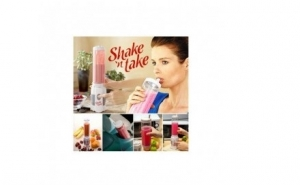 Cana blender pentru shake-uri Shake n Take la doar 79 RON
