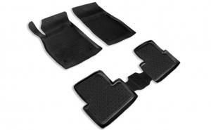 Covoare / Covorase / Presuri cauciuc stil tip tavita OPEL Astra J 2009-Prezent (5 bucati) - SEINTEX