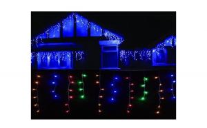 Set 3 instalatii ploaie lumini 24 m - turturi