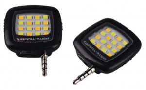 Blit pentru telefon cu 16 LED si 3 trepte luminozitate