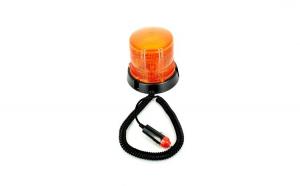 Girofar flash 51063 portocaliu, 12V cu magnet