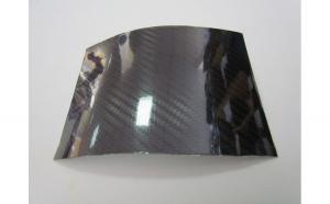 Folie carbon 5D negru lucios 1 5 x 1m SCF31S