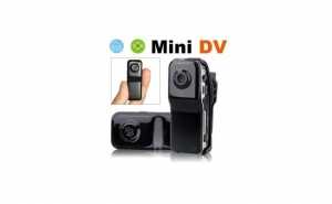 Mini camera video portabila cu inregistrare vocala, la doar 119 RON de la 249 RON