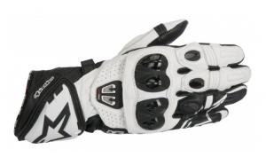 Manusi sport ALPINESTARS GP PRO R2 culoare negru alb  marime 2XL