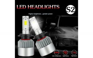 Set 2 LED-uri Auto H7 6500K 72w8000 lumeni si set becuri auto led pozitii cadou