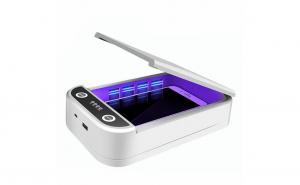 Cutie sterilizator UV, pentru obiecte mici, smartphone, masti, manusi, functie aromaterapie, mufa USB